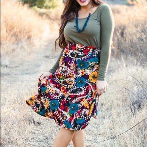 LuLaRoe Skirts - Xs Azure A-lone skirt NWT